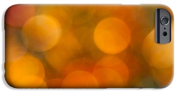 Corporate Art Photographs iPhone Cases - Orange Peel iPhone Case by Jan Bickerton