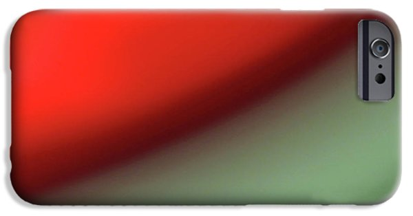 Cmlbrown iPhone Cases - Orange Red Green iPhone Case by CML Brown
