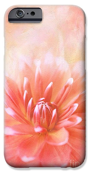 Floral Photographs iPhone Cases - Orange Sorbet iPhone Case by Reflective Moment Photography And Digital Art Images