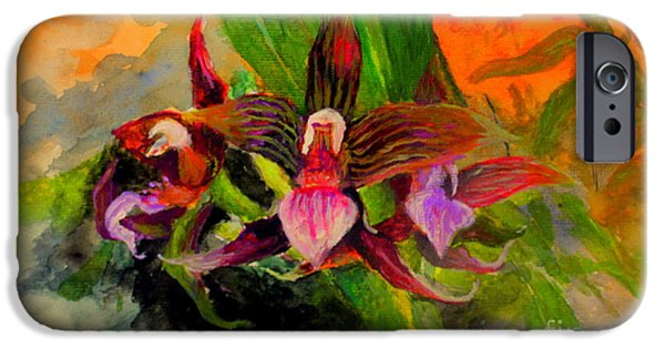 Mangrove Forest iPhone Cases - Orchid iPhone Case by Jason Sentuf