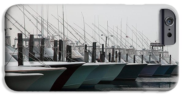 Charters iPhone Cases - Oregon Inlet iPhone Case by Kelvin Booker