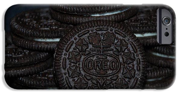 Oreos iPhone Cases - Oreo Cookies iPhone Case by Rob Hans
