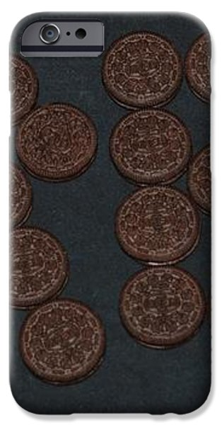 OREO iPhone Case by ROB HANS