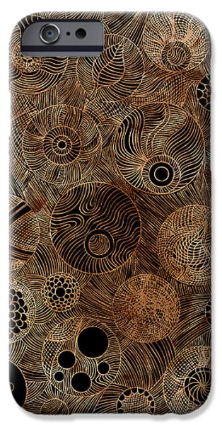 Organic Forms iPhone Cases - Organic Forms iPhone Case by Frank Tschakert