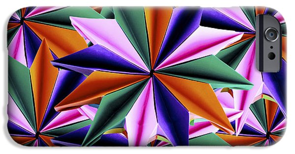 Best Sellers -  - Fireworks iPhone Cases - Origami Fireworks Base iPhone Case by Origami Style Carlotta Cristiani