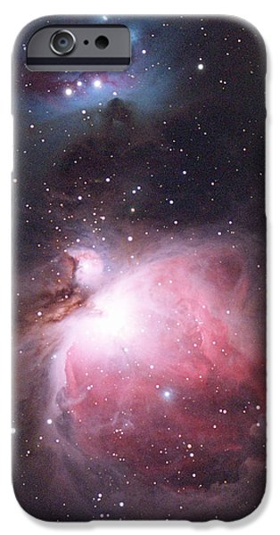 Stellar iPhone Cases - Orion Nebula iPhone Case by Chris Madeley