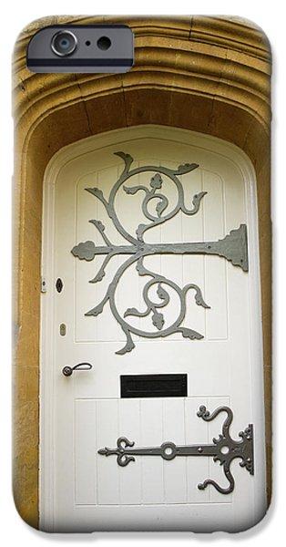 Ornate Door 1 iPhone Case by Douglas Barnett