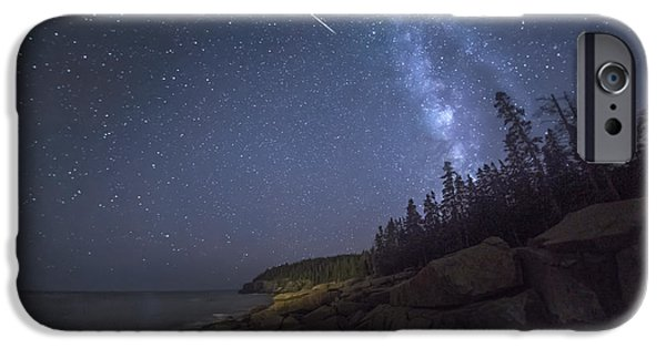 Condition iPhone Cases - Otter Cove Meteor iPhone Case by Marco Crupi