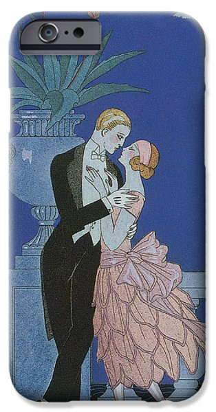Darling iPhone Cases - Oui iPhone Case by Georges Barbier