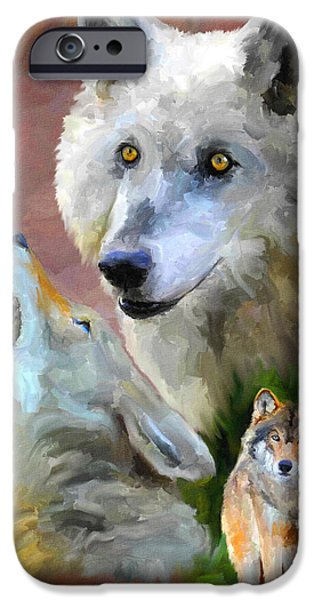 Crying Paintings iPhone Cases - Our Cry iPhone Case by Jai Johnson