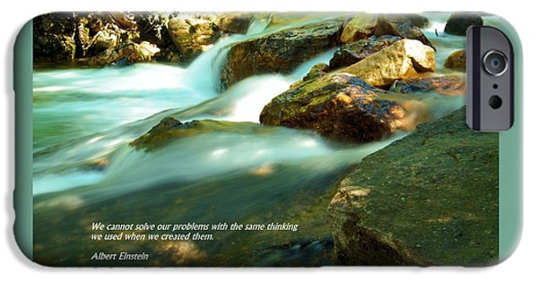 River View iPhone Cases - Our problems iPhone Case by Jeff  Swan