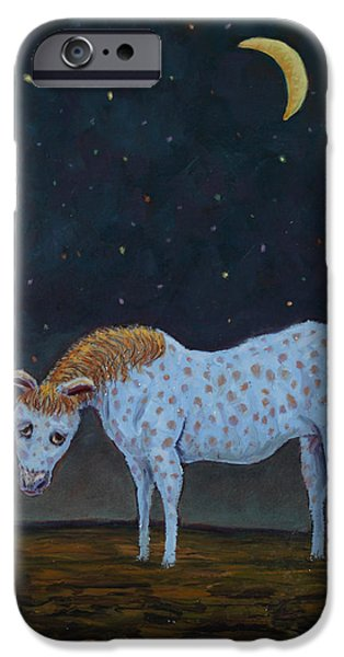 Out to Pasture iPhone Case by James W Johnson