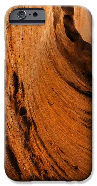 Cavern iPhone Cases - Outback cavern iPhone Case by Mike  Dawson