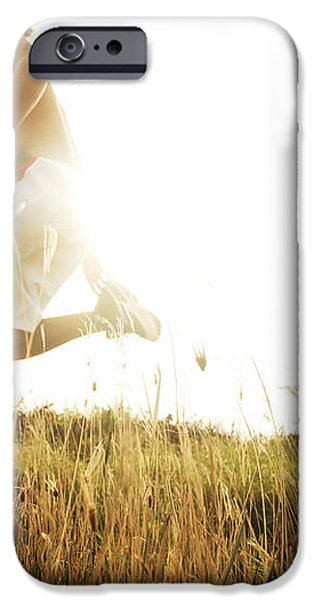 Outdoor Jogging II iPhone Case by Brandon Tabiolo - Printscapes