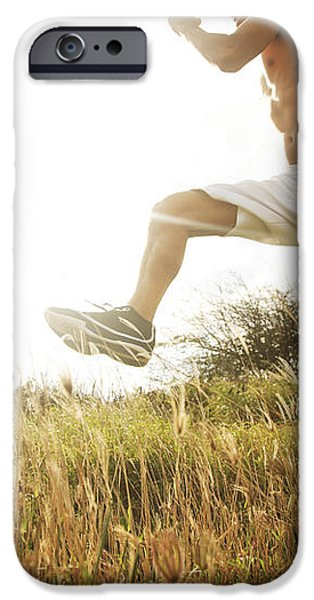 Outdoor Jogging III iPhone Case by Brandon Tabiolo - Printscapes