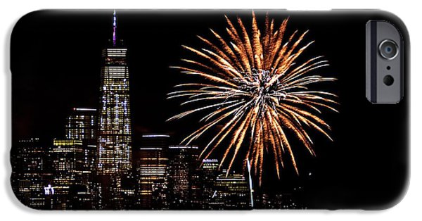 4th July Photographs iPhone Cases - Over The Rainbow iPhone Case by MingTa Li
