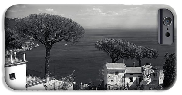 Tree Art Print iPhone Cases - Over the Trees in Ravello iPhone Case by John Rizzuto