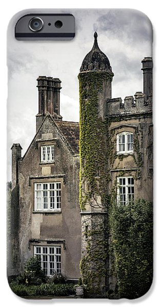Mansion iPhone Cases - Overgrown Mansion iPhone Case by Joana Kruse
