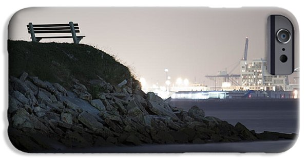 Industry iPhone Cases - Overlooking Industry in Color iPhone Case by Dustin K Ryan