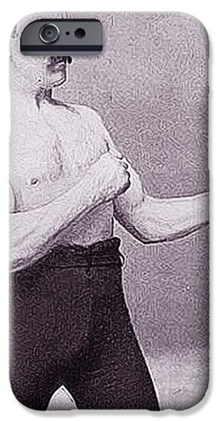 Boat iPhone Cases - Overly Manly Man iPhone Case by Queso Espinosa