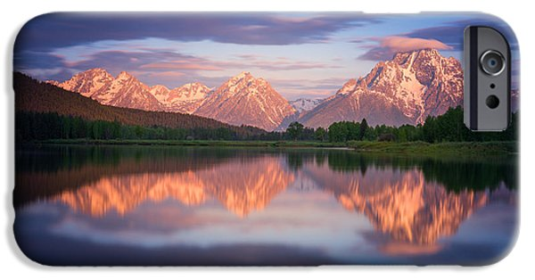 Moran iPhone Cases - Oxbow iPhone Case by Darren  White