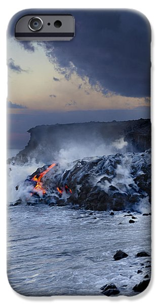 Pacific Lava Flow iPhone Case by Dave Fleetham - Printscapes