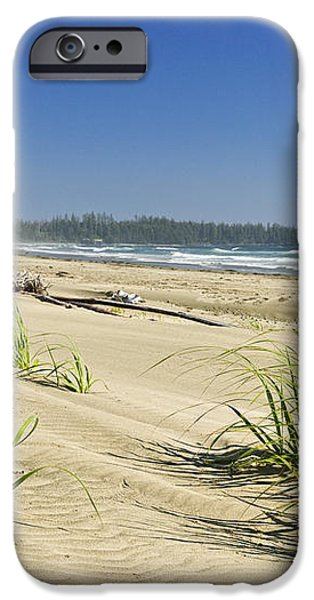 Pacific ocean shore on Vancouver Island iPhone Case by Elena Elisseeva
