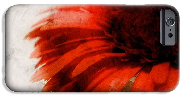 Abstract Digital Mixed Media iPhone Cases - Paint iPhone Case by Clare Bevan