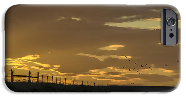 Field. Cloud iPhone Cases - Painted Desert iPhone Case by Janice Rae Pariza