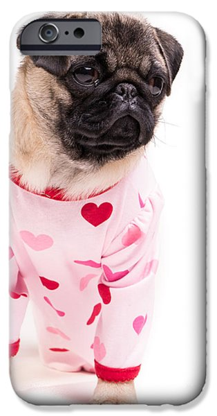 Cute. Sweet iPhone Cases - Pajama Party iPhone Case by Edward Fielding