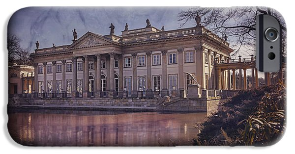 Tree Art Print iPhone Cases - Palace on The Water  Warsaw iPhone Case by Carol Japp