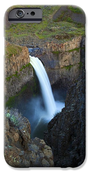 Palouse Falls iPhone Case by Mike  Dawson