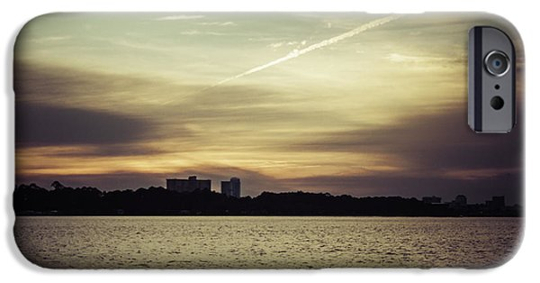 Unset iPhone Cases - Panama City Sunset 2  iPhone Case by Debra Forand