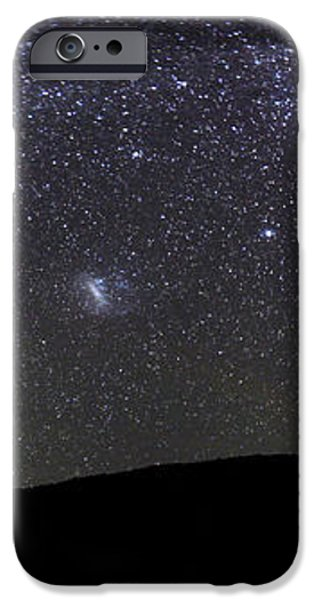 Panoramic View Of The Milky Way iPhone Case by Luis Argerich