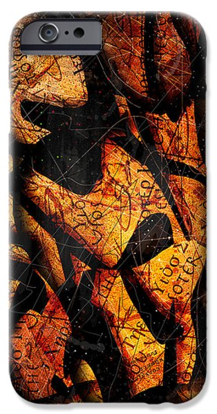 Bible iPhone Cases - Papyrus iPhone Case by Gary Bodnar