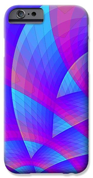 Parabolic iPhone Case by Jutta Maria Pusl