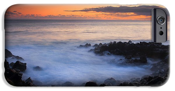 Boiled iPhone Cases - Paradise Cove Sunset iPhone Case by Mike  Dawson