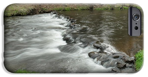 River View iPhone Cases - Paradise Creek iPhone Case by Jeff  Swan