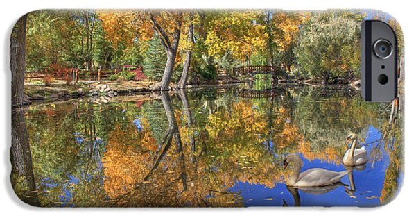 Autumn iPhone Cases - Paradise iPhone Case by Donna Kennedy