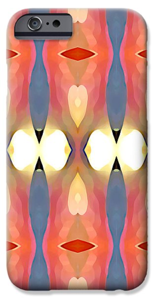 Paradise Repeated iPhone Case by Amy Vangsgard