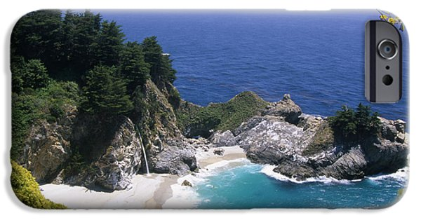 Big Sur Ca iPhone Cases - Paradise iPhone Case by Soli Deo Gloria Wilderness And Wildlife Photography