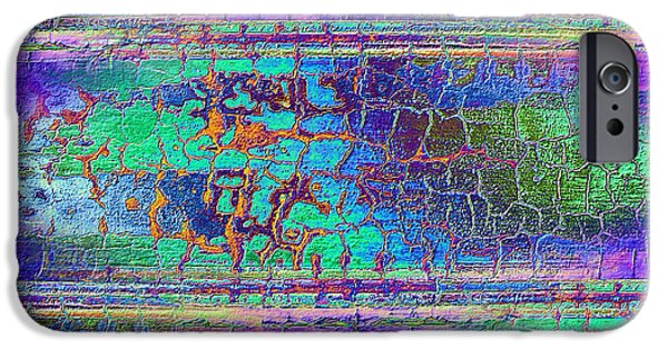 Abstract Digital Photographs iPhone Cases - Parched - Abstract Art iPhone Case by Carol Groenen