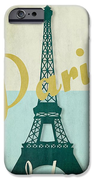 Lumiere iPhone Cases - Paris City of Light iPhone Case by Mindy Sommers