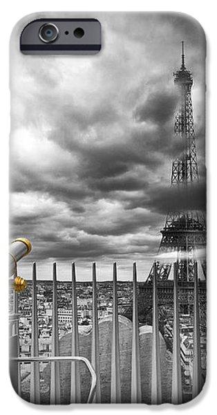 PARIS Composing iPhone Case by Melanie Viola