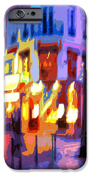 Paris Quartier Latin 02 iPhone Case by Yuriy  Shevchuk