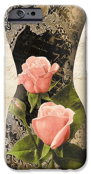 Model iPhone Cases - Paris Seamstress I iPhone Case by Mindy Sommers