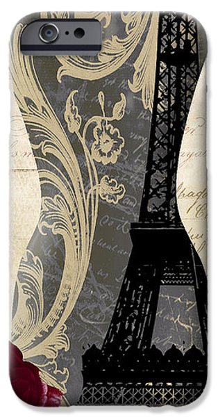 Model iPhone Cases - Paris Seamstress II iPhone Case by Mindy Sommers
