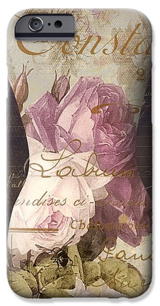 Model iPhone Cases - Paris Seamstress III iPhone Case by Mindy Sommers
