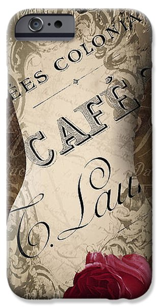 Model iPhone Cases - Paris Seamstress IV iPhone Case by Mindy Sommers