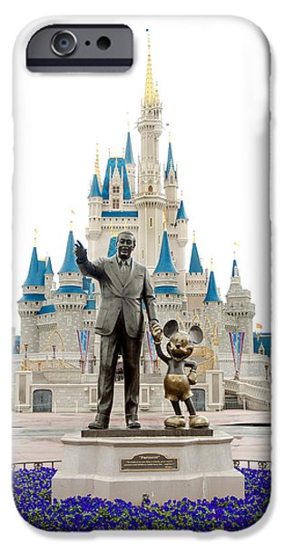 Magic Kingdom iPhone Cases - Partners iPhone Case by Greg Fortier